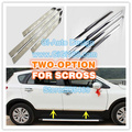NEW for SUZUKI sx4 s-cross accessory  ABS CHROME SIDE DOOR MOULDING TRIM PROTECTOR PRETTY ENOUGH FOR SCROSS 4P/SET NEW ARRIVE