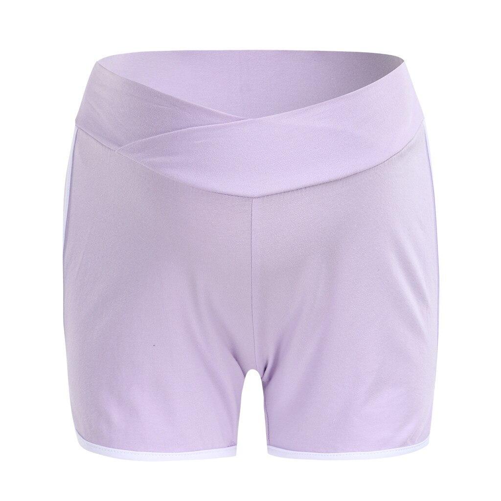ARLONEET летние шорты для беременных с низкой талией, тонкие хлопковые шорты, Одежда для беременных женщин, повседневная спортивная одежда для беременных - Цвет: PP