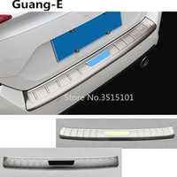 Car Body External Rear Bumper Trim Cover Detector Stainless Steel Plate Pedal For Honda Civic 10th Sedan 2016 2017 2018 2019
