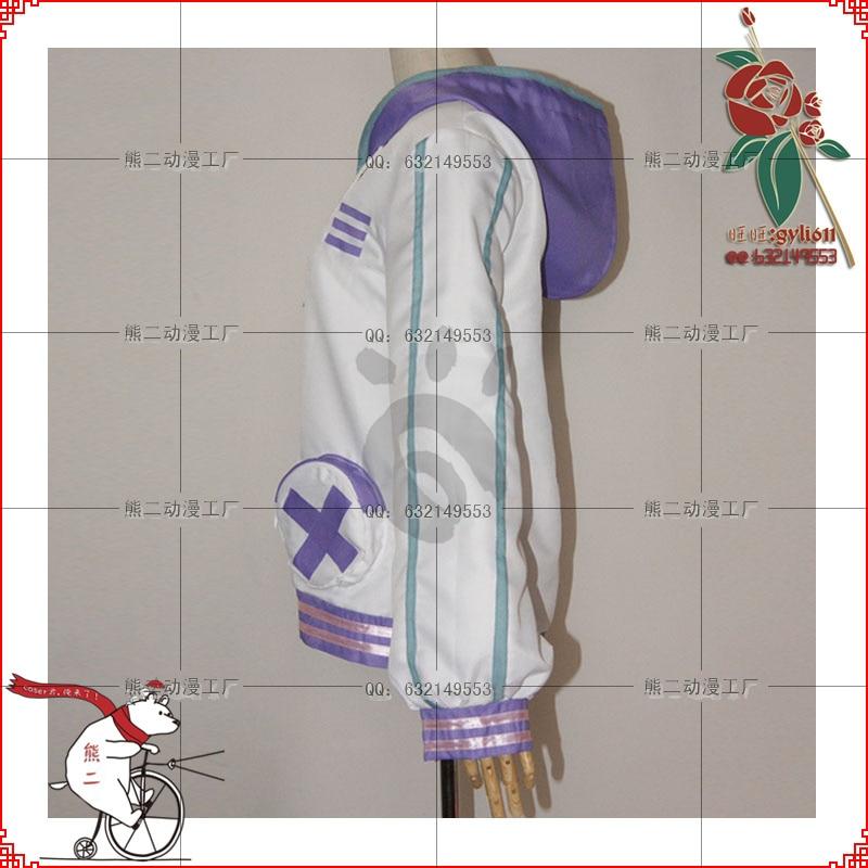 Netune Purple Heart Hoodie - Hyperdimension Neptunia Cosplay - Костюмдер - фото 2