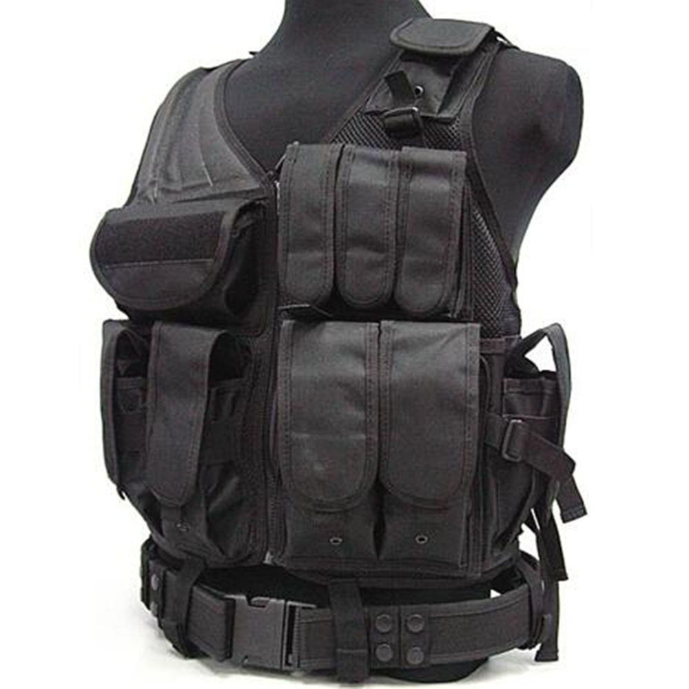 Colete Tatico 047 Net Vest 7 Colors Camouflage Hunting Military Tactical Vest Tactical V ...
