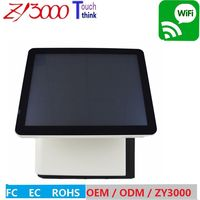 All In One Touch Screen POS System Q8 1037u 4G Ram 64G SSD 10 Points Capacitive