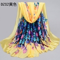 5pcs/lotwomen large long chiffonscarf wholesale cheap super large scarf shawl pashmina lady floral desigual scarf shawls180*85cm