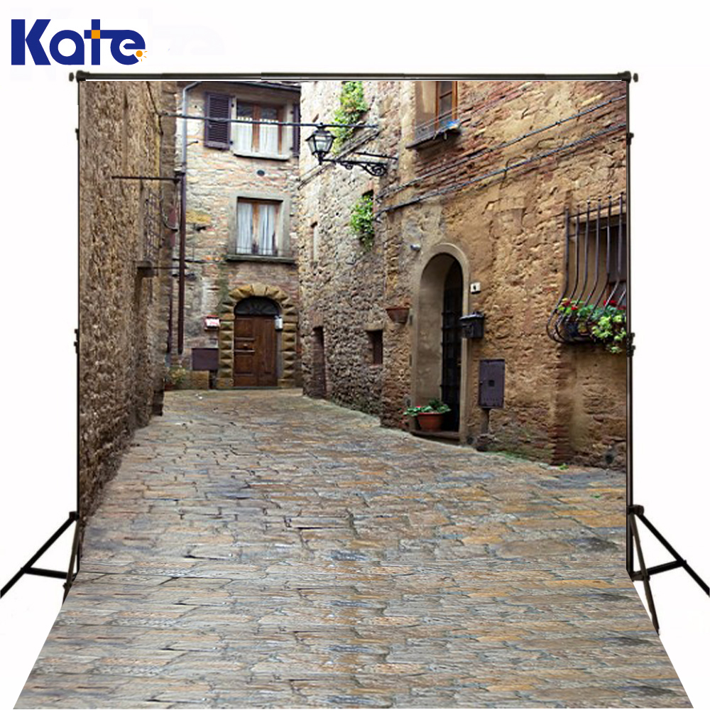 600Cm*300Cm Fundo Old Stone Road Shihfang3D Baby Photography Backdrop Background Lk 1946 600cm 300cm fundo clock roof balloon3d baby photography backdrop background lk 1982