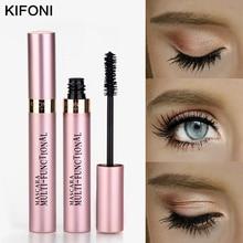 KIFONI maquillage 4D soie fibre cils Mascara imperméable Rimel Mascara Extension de cils noir épais allongement des cils cosmétiques