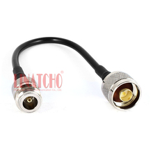 10cm RG58u N male to N female short jumper cable