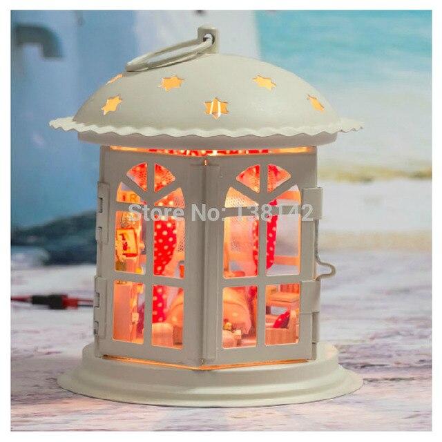 I001 Star Story Hot gift Metal Dollhouse Miniature diy Doll house