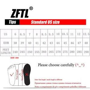 Image 5 - ZFTL yeni erkekler rahat ayakkabılar hakiki deri erkek eğlence dantel up yumuşak deri kaymaz ayakkabı adam erkek resmi ayakkabı bahar/Sonbahar 074