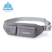 AONIJIE Mini Purse Ultra Thin Men Women Outdoor Nylon Money Belt Waist Bag Travel Personal Security