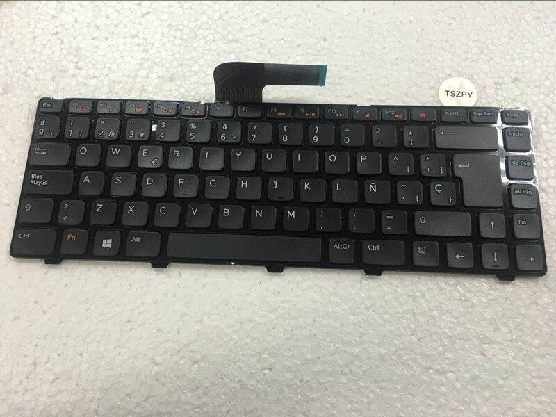 NEW Spain SP Keyboard For DELL INSPIRON 14R N4110 N4120 M4110 N4050 M4040 M5040 N5040 N5050 3420 5420 5425 5520 7420 V3450