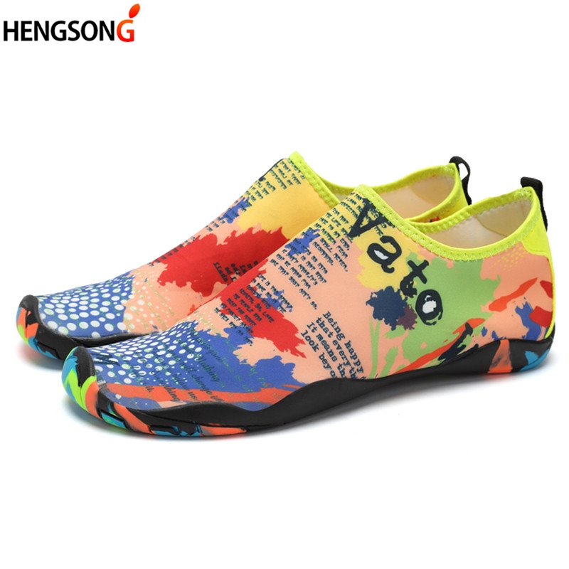 Summer Beach Sandals For Men Couples Soft Breathable Water Shoes Sapato Feminino Sandalias Mujer Quick Dry Lightweight Sandals shipped from usa warehouse 2018 clorts women water shoes summer beach shoes quick dry aqua shoes for women free shipping wt 24a