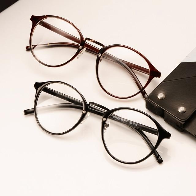 Vintage Retro Round Frame Eyeglasses Circle Glasses Nerd Glasses In Eyewear Frames From Men S