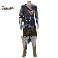 Cosplaydiy Hot Game Shimada Hanzo Costume Adult Men Halloween Carnival Cosplay Outfit Clothes Custom Made J5