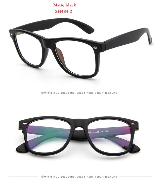 c6a3fdc8aa SOLO TU New Classical Superstar Style Rivet Eyewear Frame Men Women Optical  Eyeglasses Computer Glasses Spectacle Frames Oculos
