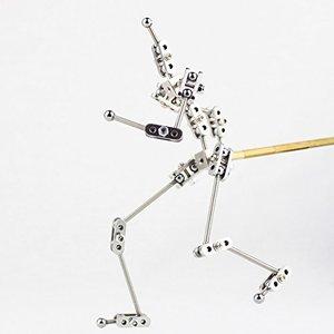 Image 1 - CINESPARK SWA 15 15CM vrouw type Niet  Klare rvs DIY stop motion karakter marionet anker kit