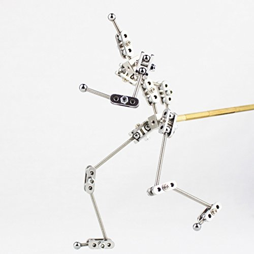CINESPARK SWA-15 15CM woman type Not-Ready-Made stainless steel DIY stop motion character puppet armature kit cinespark sba 15 15cm not ready made stainless steel diy stop motion character puppet armature kit