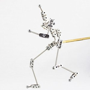 Image 1 - CINESPARK SWA 15 15CM woman type Not Ready Made stainless steel DIY stop motion character puppet armature kit