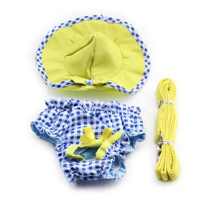 Image 5 - Armi Storeดอกไม้รูปแบบสุนัขชุดเจ้าหญิงชุดสุนัข6071055สัตว์เลี้ยงอุปกรณ์ (ชุด + หมวก + กางเกง + = 1ชุด