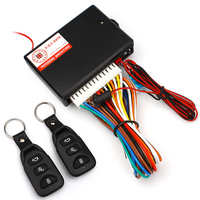 Universal Car Central Locking Auto Remote Central Kit Door Lock Vehicle Keyless Entry System With Remote
