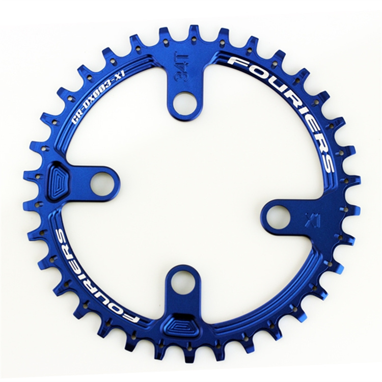 CNC 32T 34T MTB Crankset Chainwheel Chainring Aluminum Alloy XX1 P.C.D 74MM Repair Bicycle Parts Bielas Bicicleta Gear Pedivela d09 aluminum alloy bicycle cnc front fork washer blue white 28 6mm
