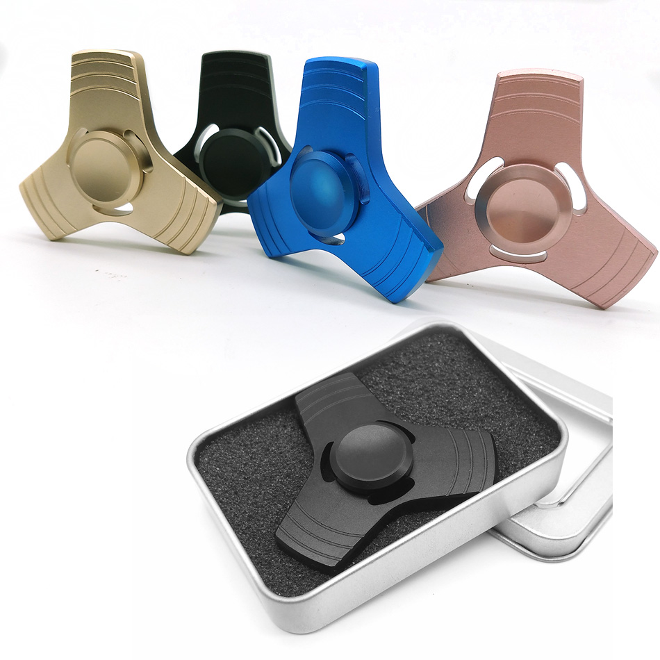 ZXZ Stress Wheel Hand Spinner Metal Fidget Spinner Spiner