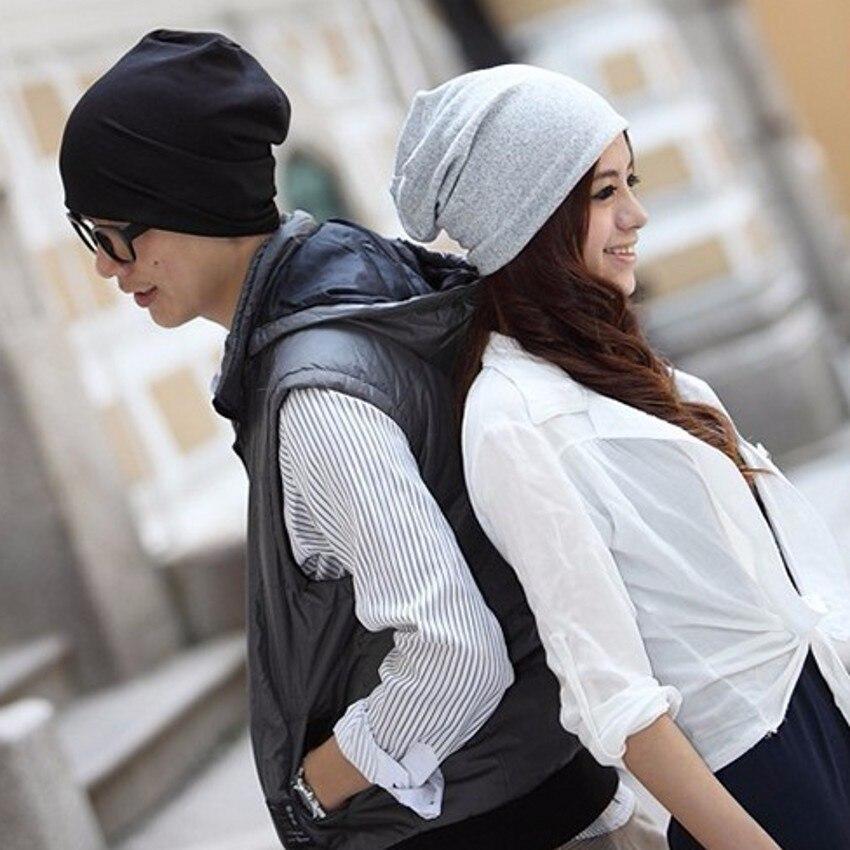 Unisex hat Women hat men hat Hipster beanie slouchy knit hat plain beanies cotton caps Unisex Womens Clothing