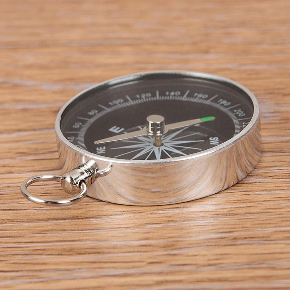 Pro Hiking Lightweight Aluminum Wild Survival Compass Navigation Tool Mini Newly