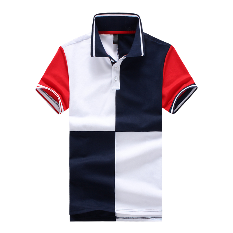 New Men Polo Shirt 2018 Fashion Clothing Men Business & Casual Solid Male Polo Shirt Short Sleeve Breathable Polo