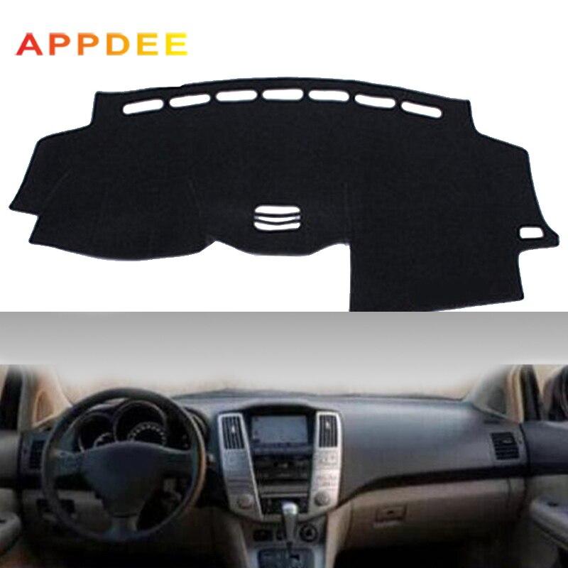 APPDEE Car Dashboard Cover DashMat For Lexus RX RX300 RX330 RX350 2004 2006  2007 2008 2009 Non slip