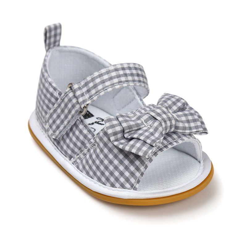 Hot-sale-New-Stripe-Bowtie-Cute-Baby-moccasins-child-Summer-girls-sandals-Sneakers-First-walkers-Infant-Fabric-shoes-0-18-M-3