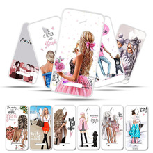 Silicone Case For TP-LINK Neffos Y5 Coque Soft TPU Cover TP-LINK Neffos Y5 TP802A 5.0 Bumper Black Brown Hair Baby Mom Girl смартфон tp link neffos с9 moolight silver