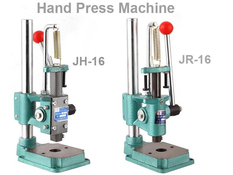 Kostenloser versand Industrielle JH16 /JR16 hand drücken maschine Manuelle pressen maschine Kleine industrielle hand drücken Mini industrielle hand