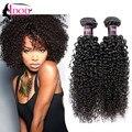 7a Brazilian Curly Virgin Hair 3 Bundle Deals Meche Bresilienne Cheveux 100% Human Hair Brazilian Kinky Curly Virgin Hair Weave