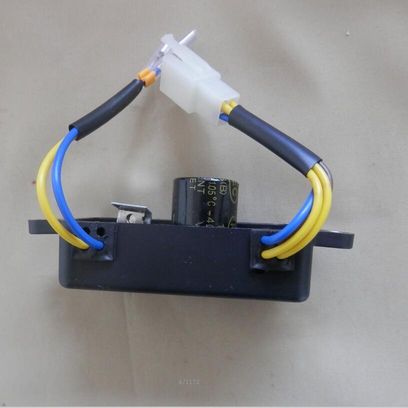 3KW Тип SQURE Универсальный АРН подходит для большинства 2KVA 3KVA генераторы 250 V 220 мкФ 6 проволока автоматический voiltage Регулятор выпрямителя