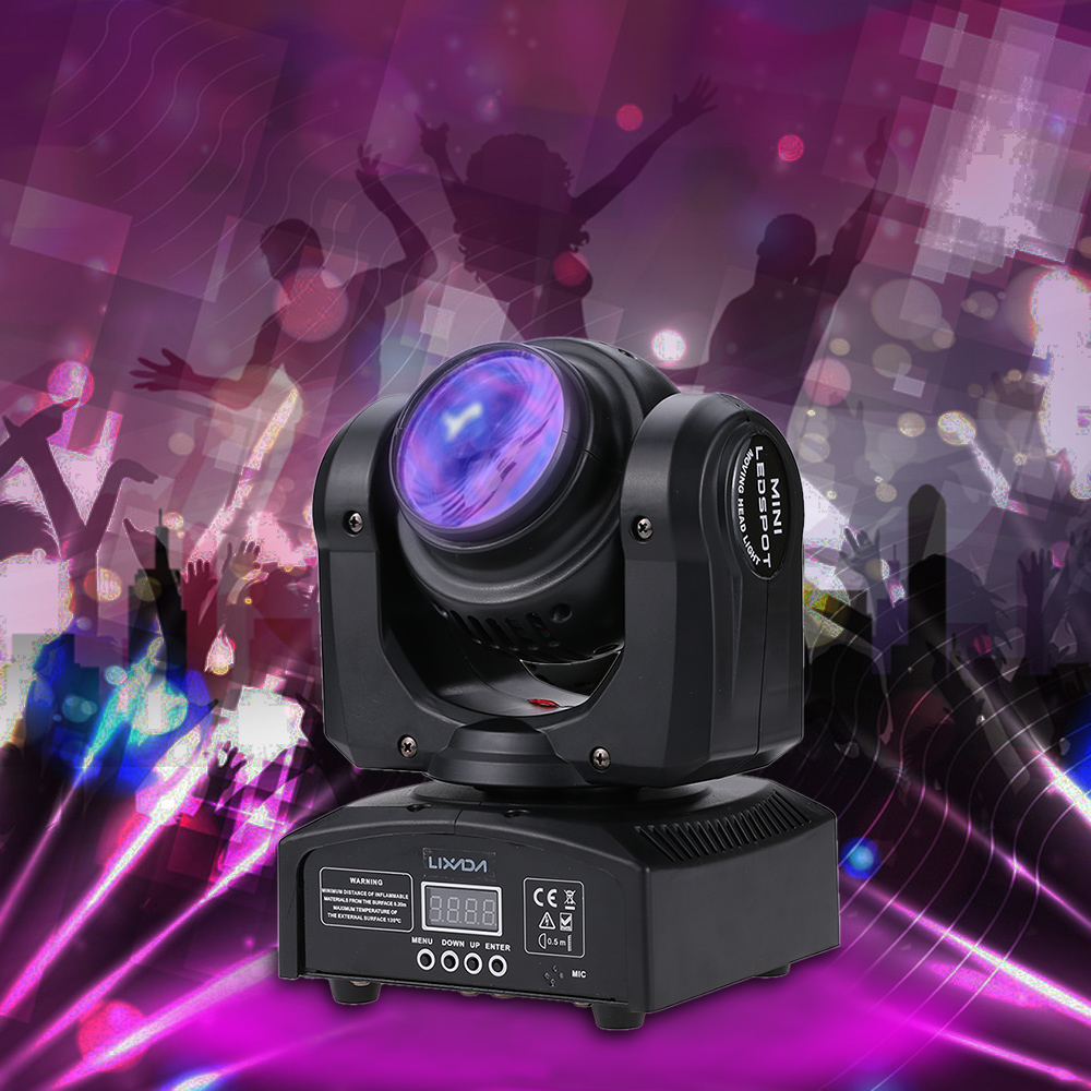 Lights & Lighting Professional Stage Effect Light 2leds 35w Rgbw 21 Channel Double Sides Beam Rotating Moving Head For Disco Ktv Club Party