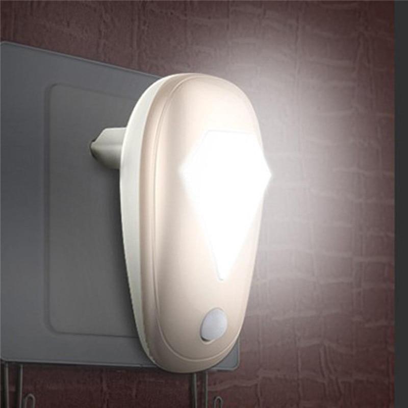 1pc AC 220V led night light with light sensor control Auto Sensor Night Light Lamp Eu Plug For Bedroom night lamp