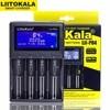 LiitoKala Lii PD4 Lii PL4 battery charger สำหรับ 18650 26650 21700 18350 AA AAA 3.7 โวลต์/3.2 โวลต์/1.2 โวลต์ /1.5 โวลต์แบตเตอรี่ลิเธียม NiMH charger