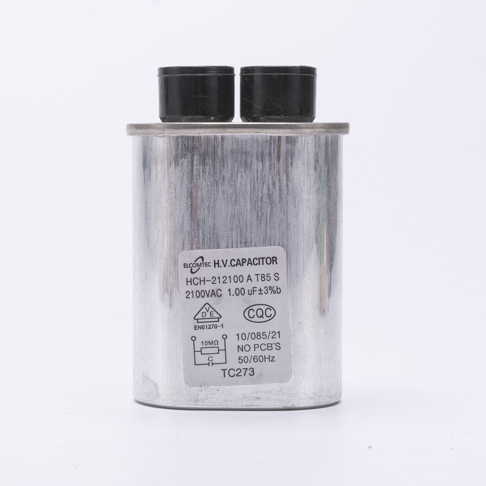 DR1 microwave oven capacitor 1UF 2100V explosion proof running motor start washing machine capacitor for household appliance cbb60 10uf 450v 50hz 60hz motor running start capacitor application washing machine