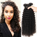 Brazilian Bundle Hair Kinky Curly 3pcs Queen Hair Products Natural Kinky Hair Grade 10A Unprocessed Brazilian Hair Curly Kinky