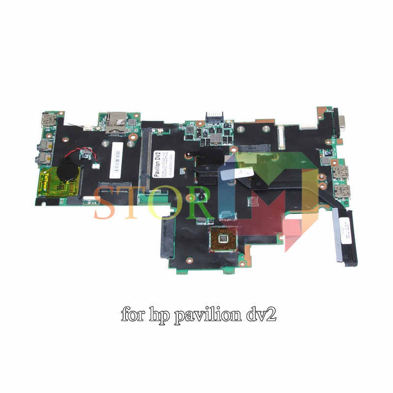 NOKOTION for HP Pavilion DV2 laptop motherboard 500554-001 40GAB3800-D400 AMGMV400 CPU DDR2 купить в Москве 2019