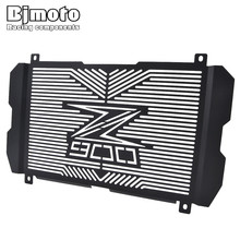 BJMOTO For Kawasaki Z900 2017 2018 Motorcycle Radiator Grille Guard Radiator Grille Cover Protector High Quality Stainless Steel