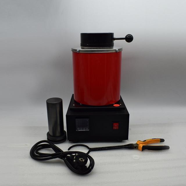 220V 2KG mini melting furnace metal melting furnaces small melting furnace