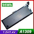 "7.4V 95Wh Laptop Battery A1309 For Apple MacBook Pro 17"" A1297(2009 Version) MC226"
