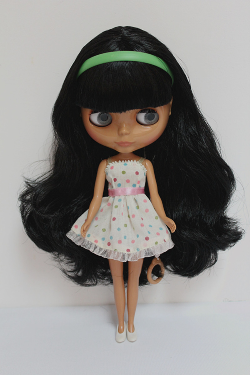 doll trottla doll pussy Free Shipping Top discount 4 COLORS BIG EYES DIY Nude Blyth Doll item NO.  100