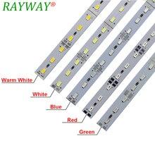 Kitchen Light 8520 7020 5730 5630 2835 LED Strip Under Cabinet Light 12V 0.5M LED Bar Light White Warm LED Rigid Strip 10pcs/lot