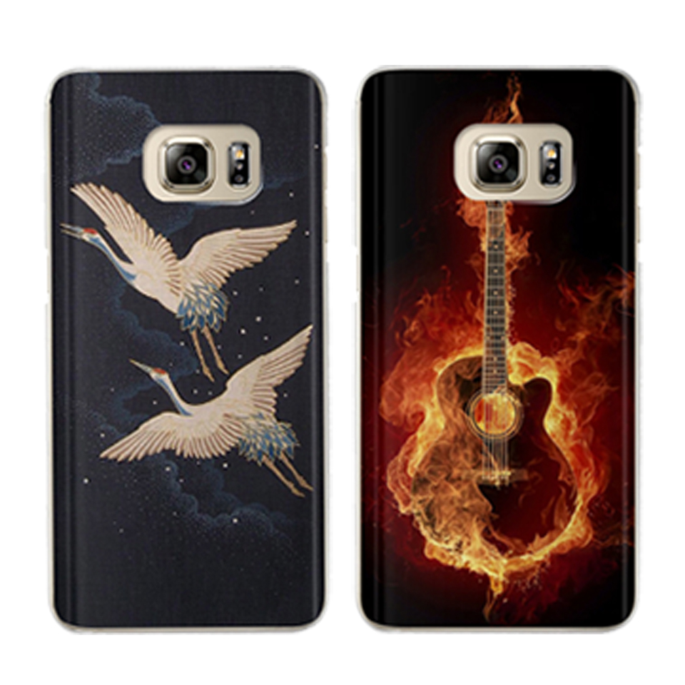 Fashion Phone case For Samsung Galaxy S8 J3 J5 J7 A5 A3 2017 2016 2015 S6 S7 Edge S9 Plus Coque Silicona Casos Para Fundas Back in Fitted Cases from Cellphones Telecommunications