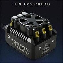Nova atualização skyrc ts150 pro alumínio toro ts150 pro brushless sensored esc para 1/8 rc carro buggy caminhão monstro truggy