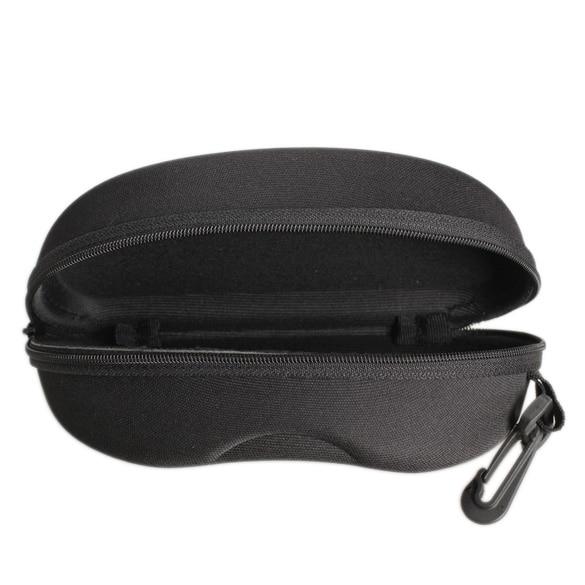 2017 New Zipper Eye Glasses Sunglasses Hard Case Cover Bag Storage Box Portable Protector Black High Quality