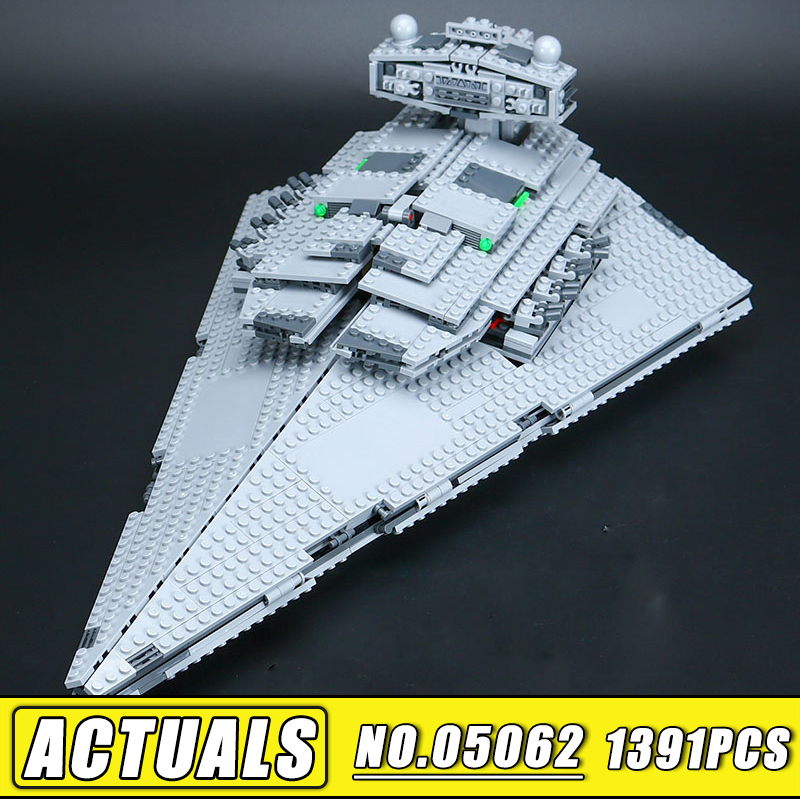 Bei Fen 05062 Star 1391Pcs Wars Series 75055 the Super Fighting Destroyer Set Educational Building Blocks Bricks Toy Gift lepin 05028 star wars execytor super star destroyer model building kit mini block brick toy gift compatible 75055 tos lepin