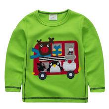 Jumpingbaby/детская одежда Детская футболка для мальчиков футболки